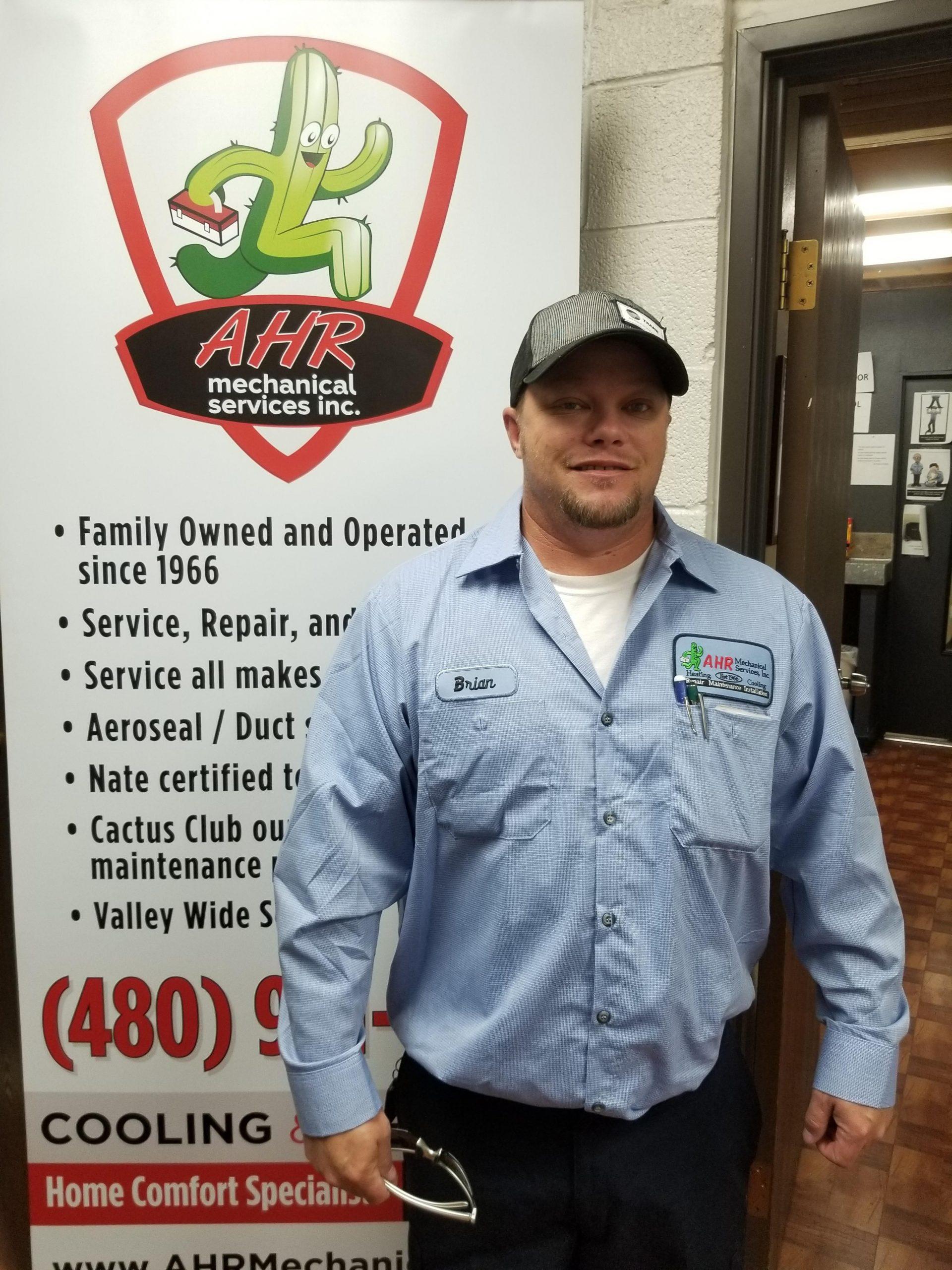 AHR Technician - Brian Howard
