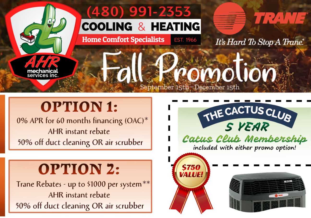 TRANE Fall Promotion
